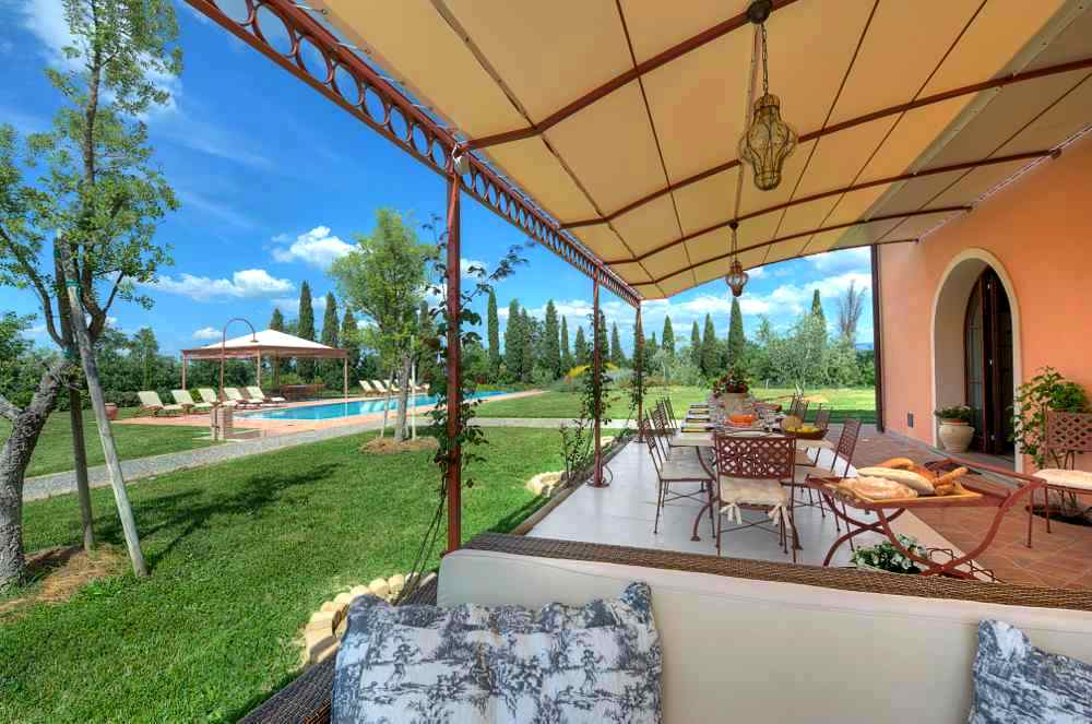 Villas for rent in Pisa and Lucca
