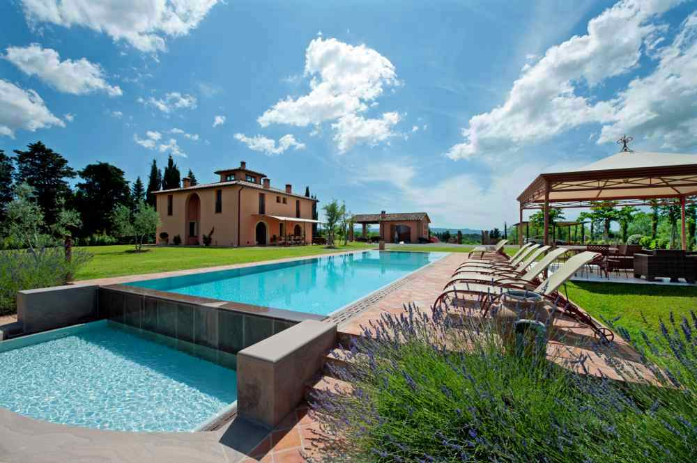 Villa for rent in Pisa and Lucca