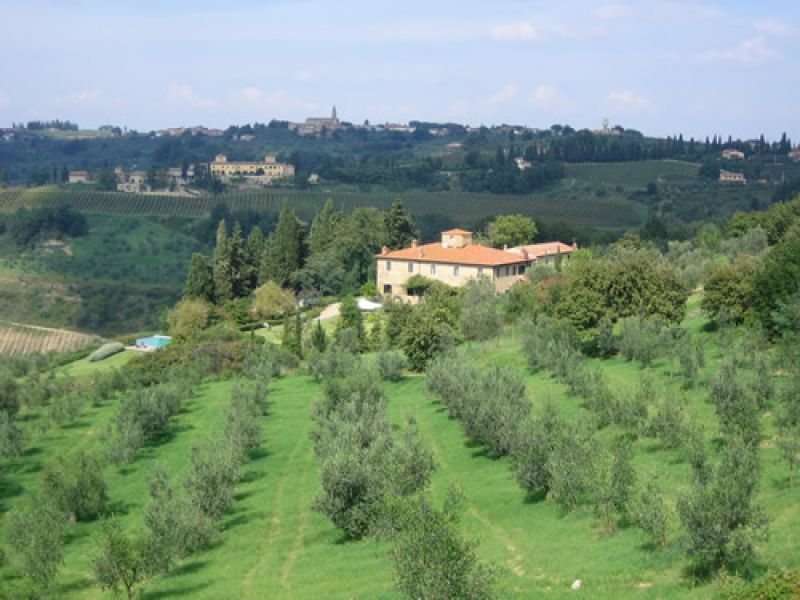 Florence countryside and Chianti