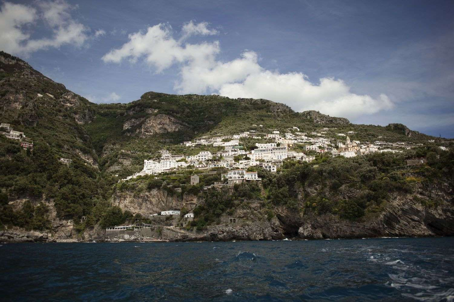Amalfi coast and Positano